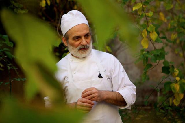 Corrado Assenza, chef/pasticcere del Caffè Sicilia di Noto