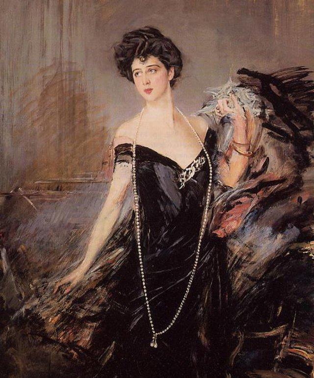 """Donna Franca Florio, la """"Regina"""" di Palermo, dipinta da Giovanni Boldini"""