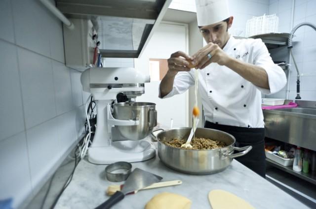 Giovanni Santoro, chef del Ristorante Shalai (1 stella Michelin da quest'anno) di Linguaglossa
