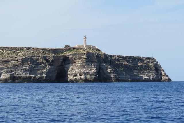 Capo Grecale e il suo faro - Lampedusa