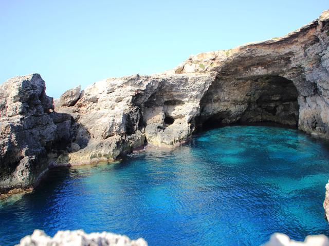 Le Grottacce di Lampedusa