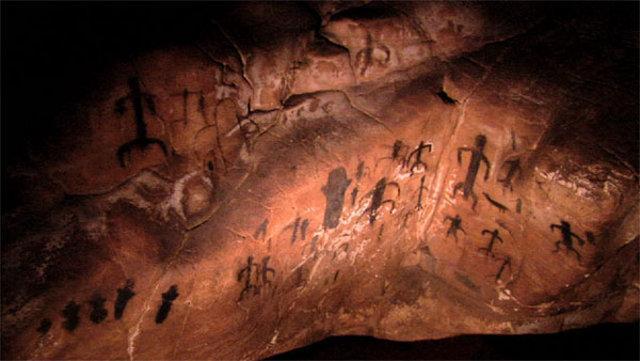 I graffiti della Grotta del Genovese a Levanzo