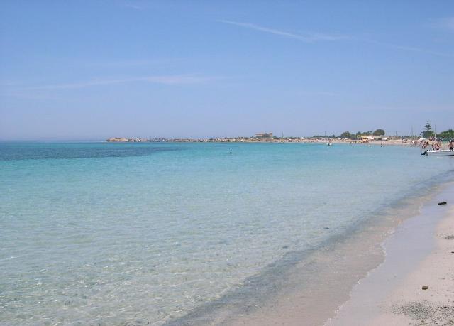 Punta Tramontana, la spiaggia di Marsala