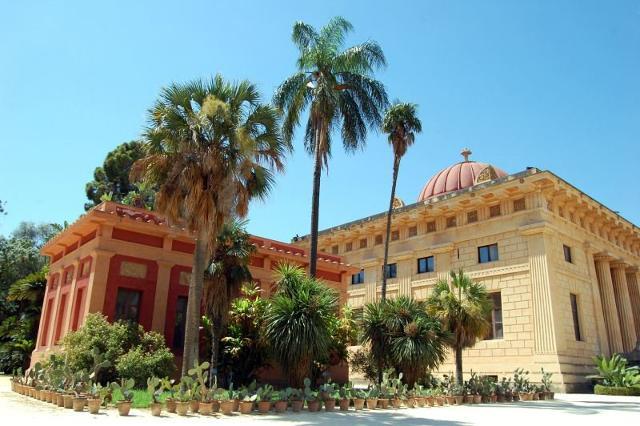 Il Calidarium dell'Orto Botanico di Palermo