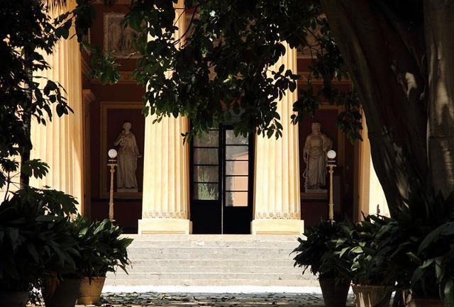 Il Gymnasium dell'Orto Botanico di Palermo