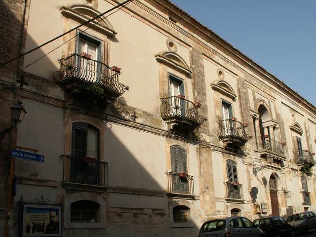 Palazzo Montesano a Chiaramonte Gulfi
