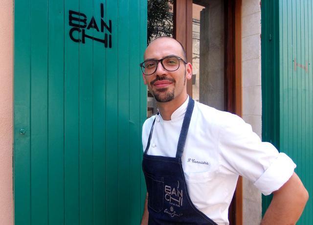 Peppe Cannistrà, chef del Ristorante I Banchi di Ibla Ragusa