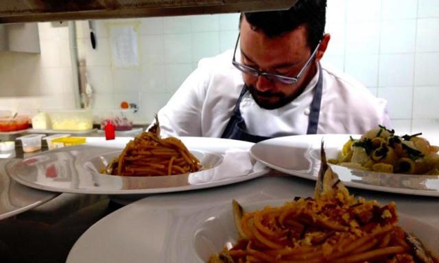 Salvatore Vicari, chef del Ristorante Vicari di Noto