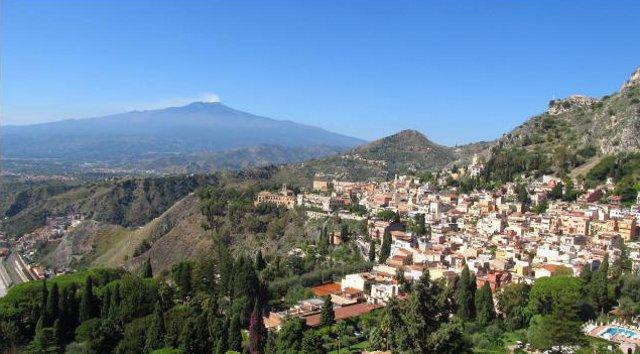 Panorama di Santa Venerina