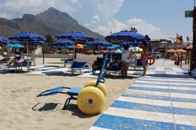 Spiaggia accessibile a San Vito Lo Capo (TP)