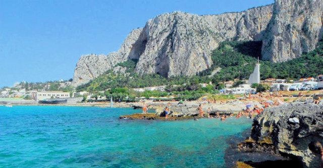 La spiaggia dell'Addaura