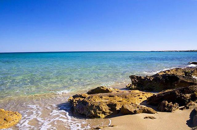 Spiaggia di Punta Asparano - Siracusa