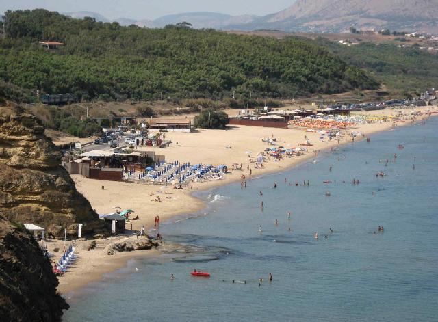 La spiaggia di Balestrate (PA)