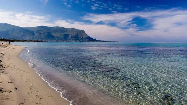 La spiaggia di Capaci