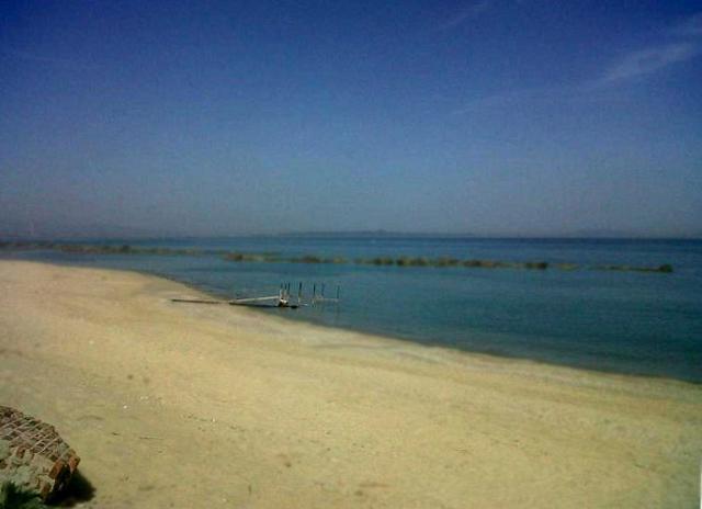 La spiaggia di Rometta Marea