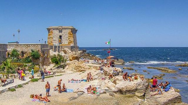 La spiaggia di Torre Ligny (TP)