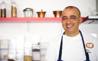 Lo chef Pino Cuttaia alla guida de Le Soste di Ulisse