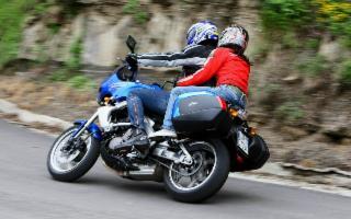 In moto da Palermo a Sciacca
