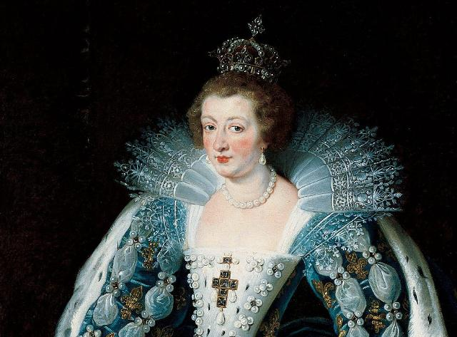 La regina Anna d'Austria in un ritratto di Pieter Paul Rubens
