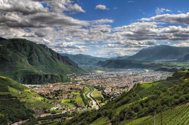Panorama di Bolzano