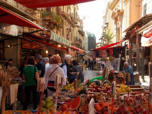 Il Mercato del Capo a Palermo