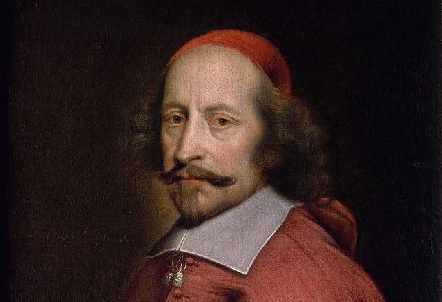 Ritratto del cardinale Giuio Raimondo Mazzarino, opera di Pierre Mignard