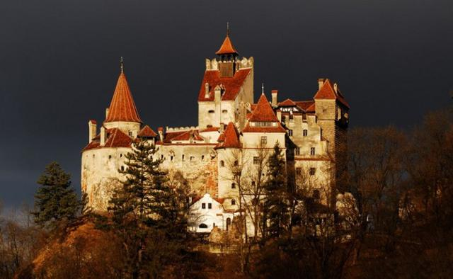 Il castello di Bran del conte Vlad Tepes (il Conte Dracula) in Transilvania