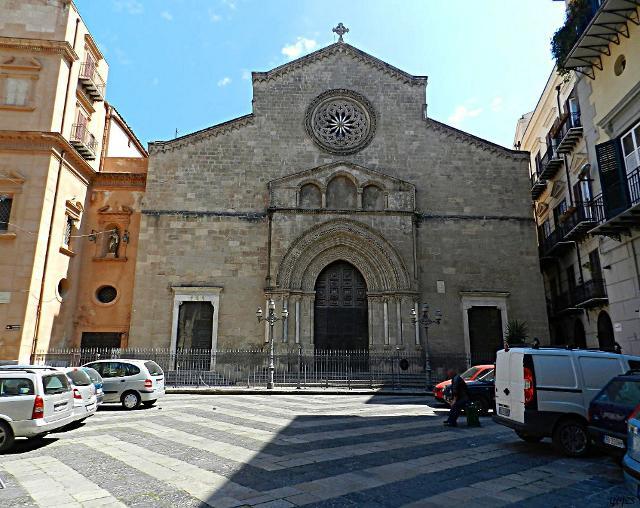 """La chiesa di Sant'Agostino (nota localmente come """"Santa Rita"""") a Palermo"""