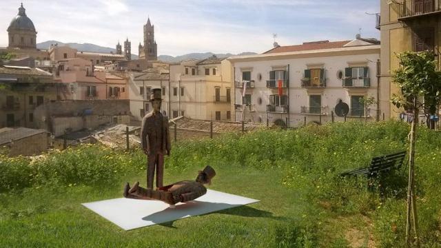 GNV adotta il Monumento a Franco Franchi e Ciccio Ingrassia