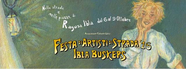 A Ottobre grande festa a Ragusa Ibla. Torna ''Ibla Buskers'' !