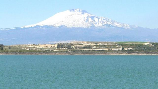 Il lago del Biviere di Lentini