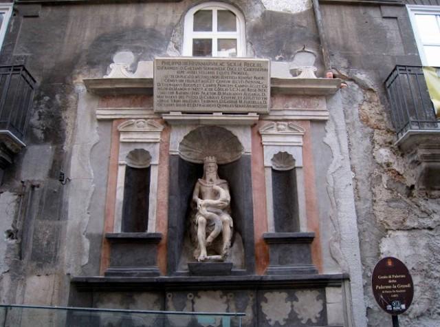 Il Genio di Piazza Garraffello, a Palermo