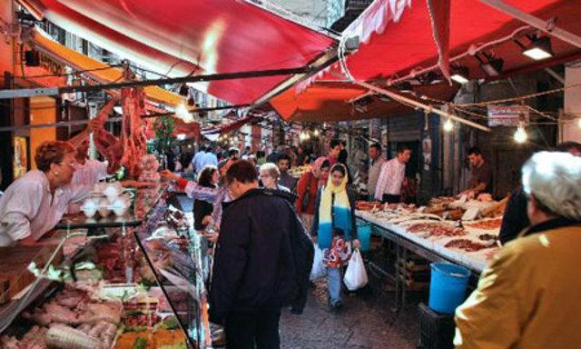Il Capo, uno dei mercati storici di Palermo