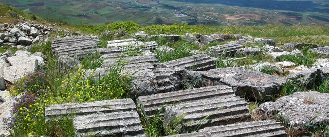 Resti del Tempio di Afrodite
