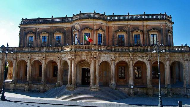 Palazzo Ducezio, sede del Comune di Noto (SR)