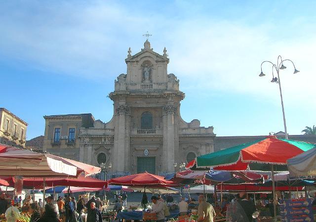 Il Santuario del Carmine a Catania