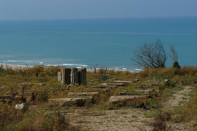 Le rovine di Kamarina
