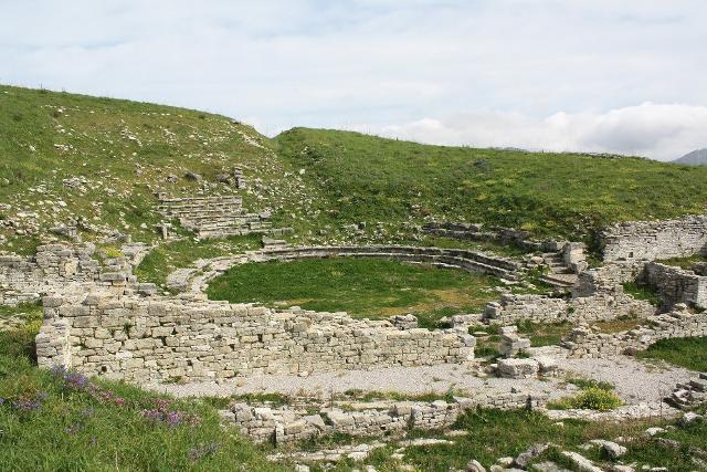 Il teatro greco di Monte Jato