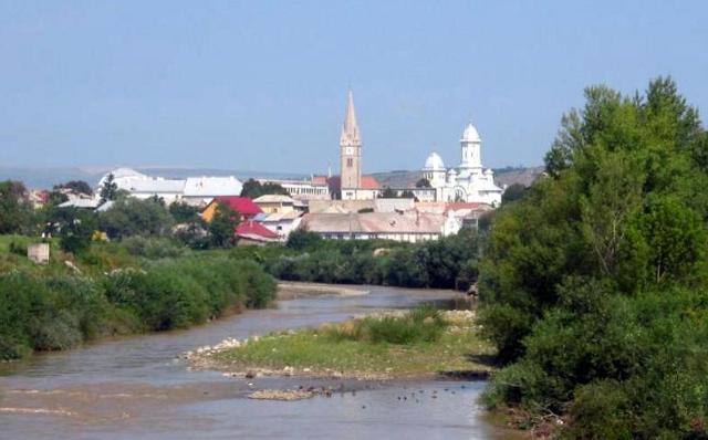 La città di Torda (o Turda) in Transilvania