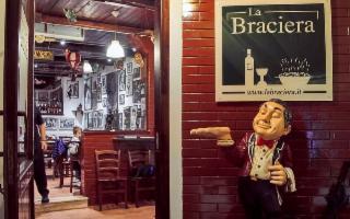 Tre Spicchi alla pizzeria La Braciera di Palermo