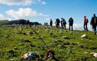 Escursione a Colle della Pinita, Senebardo e Bibbinello