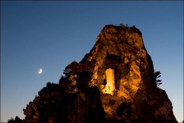 I resti del Castello di Triokala - Caltabellotta