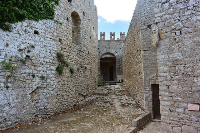 I percorsi interno del Castello di Caccamo