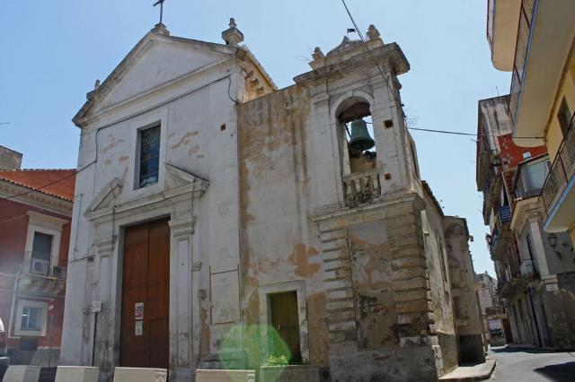 La Chiesa dei tre Santi (o della fontana) di Lentini