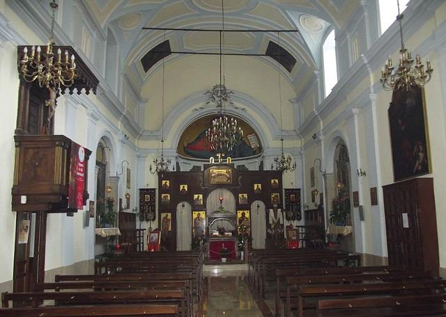 San Giorgio Megalomartire, la chiesa più antica del centro urbano di Piana degli Albanesi