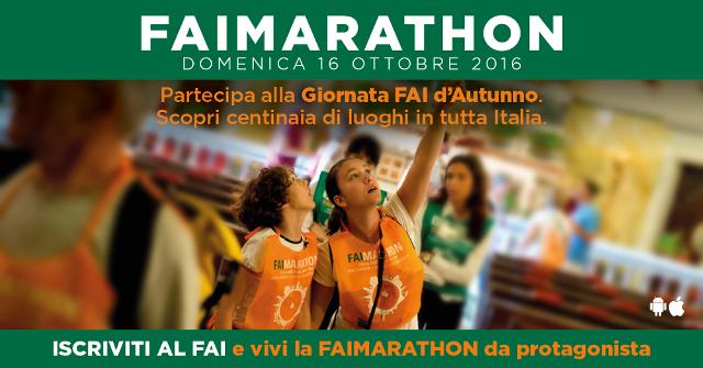 FAImarathon.  Ricordiamoci di salvare l'Italia