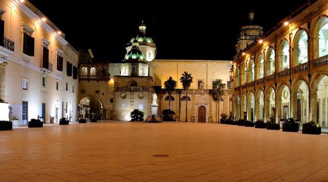 Piazza della Repubblica, la piazza principale di Mazara del Vallo