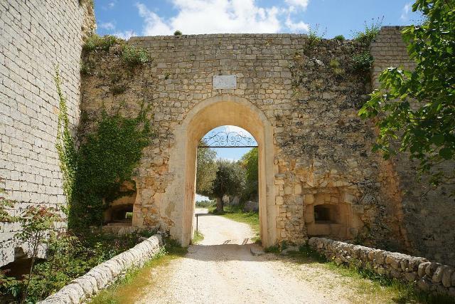 Porta montagna, ingresso a Noto Antica
