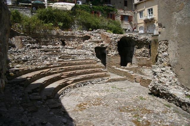 Il piccolo teatro Odeon di Taormina - ph Giovanni Dall'Orto