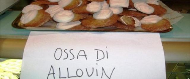"""I tipici dolcetti chiamati """"crozzi i mottu"""" per qualcuno sono diventati """"ossa di allouin""""..."""